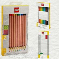 Lego Art School Supplies Pen Pencil Marker Ruler Pencil Box