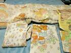 Vtg New Cabbage Patch Kids Quilted Bedspread Comforter & sheet set Twin Size 80s