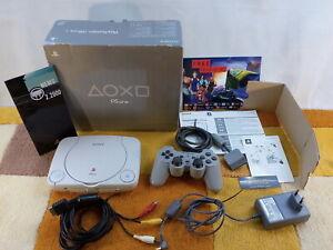 PS1 Playstation 1 Slim PSone Weiß SCPH-102 + Zubehörpaket:  OVP + Anleitung !!