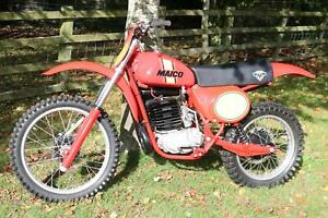 Maico 400 1978  Classic MX Twin Shock fresh in from private US museum