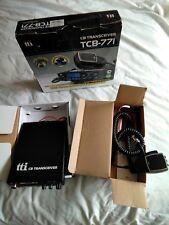 tti TCB 771 multi channel am/fm cb radio transceiver