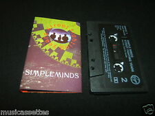 SIMPLE MINDS STREET FIGHTING YEARS UK CASSETTE TAPE