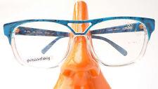 Occhiali montatura SILHOUETTE modello fuori uso donna forma GRANDE TURCHESE CHIARO TAGLIA M