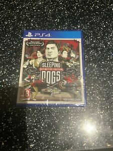PLAYSTATION 4 PS4 GAME Sleeping Dogs Definitive Edition NEW & SEALED