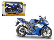 2004 YAMAHA YZF-R1 BLUE BIKE 1/12 MOTORCYCLE BY MAISTO 31102