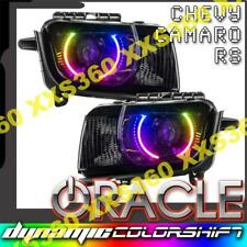 ORACLE Halo HEADLIGHTS Chevrolet Camaro RS 10-13 COLORSHIFT DYNAMIC & HID