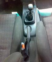 Opel Corsa B cuffia cambio e freno in vera pelle nera