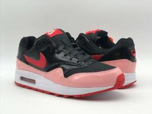 Nike Air Max 1 QS (GS) Valentines Day Black Day Speed Red Women's Girls Trainers