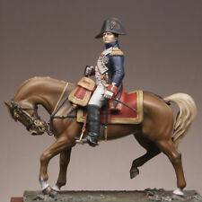 Metal Modeles Mounted Napoleon in Guard Grenadier uniform 54mm Unpainted Kit