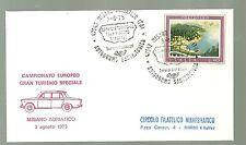 ITALIA BUSTA 1975 CAMPIONATO GRAN TURISMO SPECIALE AUTODROMO SANTAMONICA MISANO