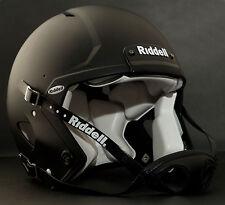 Riddell Revolution SPEED Classic Football Helmet (Color: FLAT BLACK)