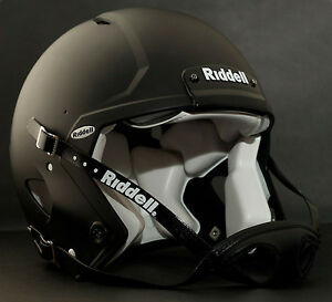 Riddell Revolution SPEED Classic Football Helmet (Color: FLAT BLACK)