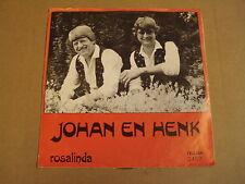45T TELSTAR / JOHAN EN HENK - GELOOF, HOOP EN LIEFDE / ROSALINDA