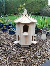 dovecote six sided garden dovecote large bird house  box dove house