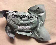 """One Israeli 4"""" Emergency Wound Dressing Compression Bandage Expires 2022"""