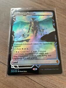 MTG Celestial Colonnade FOIL - Zendikar Rising Mint/Nr Mint Expedition