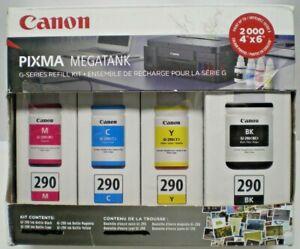 Canon GI-290 CMYK PIXMA Mega Tank Toner Accessory Kit (4 color)- NEW