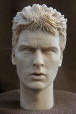 "CUSTOM HEAD SCULPT CHARLIE SHEEN ""PLATOON""  . Action figures 1/6 . 12"". CMD-79"