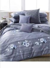 Calvin Klein Bonaire Orchid Cotton Floral Queen Duvet Cover. Retail Price $375.