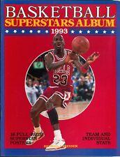 1993 Basketball Superstars Album by Richard Brenner 16 Posters Michael Jordan