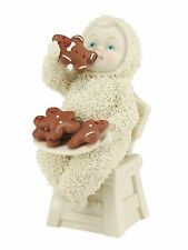 Dept 56 Snowbabies Eating All The Gingerbread Figurine Ornament 10cm 4051933 New