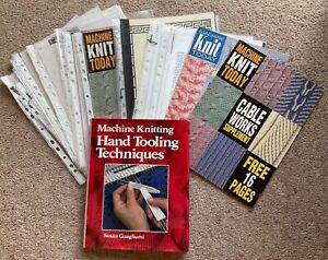 MACHINE KNITTING HAND TOOLING TECHNIQUES BY SUSAN GUAGLIUMI