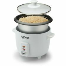 Aroma ARC-363NG 6-Cup Pot-Style Rice Cooker - White