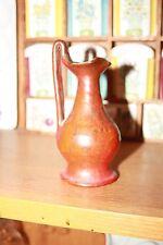 "vintage north state Carolina pottery Rebecca vase/pitcher Mini 1st stamp 5.5"""