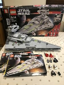 LEGO Star Wars Imperial Star Destroyer 6211 100% Complete Box & All Mini-figs