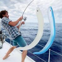 5x Soft Fishing Lures Baits Eel Artificial Bait Simulation Lifelike Lure ZH