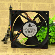 1Pc Delta Efc1248Df 12032 48V 0.33A 12Cm four-wire cooling fan