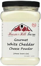 Hoosier Hill Farm White Cheddar Cheese Powder, cheese lovers Gluten Free 2 lb