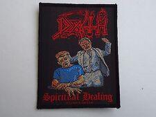 DEATH SPIRITUAL HEALING WOVEN PATCH