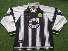 Borussia dortmund camiseta XXL nike camisa 96/97 campionsleauge blanco continentale