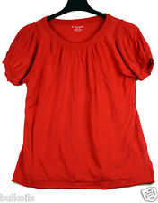 EUC Plus 1X for the republic red blouse top Pima Cotton Scoop Neck Lots of Room