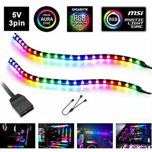 5v 3pin Led Strip RGB LED Headers For PC Computer Case Mainboard Control Panel