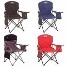Coleman Oversized Quad Chair with Cooler, 4 Colors