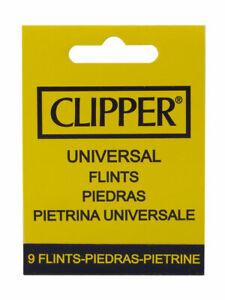 CLIPPER PIETRINE UNIVERSALI PER ACCENDINI (BLISTER DA 9 PEZZI)