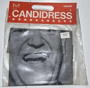 VHTF 1968 Hubert Humphrey Political Campaign Paper Dress Pop Art NOS Candidress