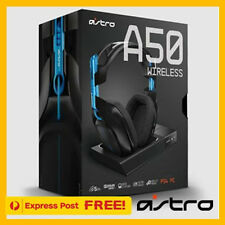 NEW ASTRO A50 Gen 3 Wireless Gaming Headset for PS4 PC (Gen3) Black/Blue