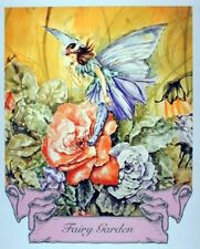 Fairy Garden Rose Kids Room Picture Wall Decor Art Print poster (16x20)