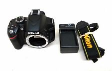 Nikon D3200 24.2MP 4GB Digital SLR Camera Photography Kit Charger Battery Strap
