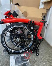 BNIB Brompton M6L-×titanium Black Edition Rocket Red Fold bike NEW