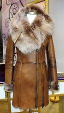 Luxus Designer Damen echter Lammfellmantel m  Toskana  Fell Gr.32,34,36,38 NEU