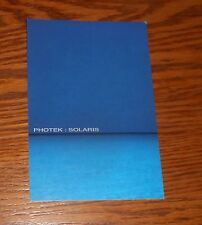 Photek: Solaris Sticker Decal Rectangle Promo 6x4