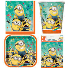 40pc Despicable Me Minion Party Pack For 8 Guests Birthday Decorations Supplies