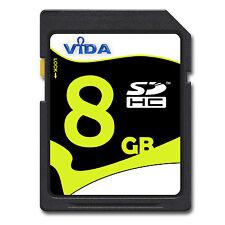 NEU Vida IT 8GB SD SDHC Speicherkarte Karte Für Canon PowerShot SX150 IS Kamera