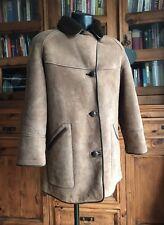 Vintage Genuine Hand Tailored Sheepskin Jacket Small 38 By Oak leaf