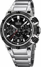 Festina Herren-Armbanduhr XL Tourchrono Chronograph Quarz F16775/H