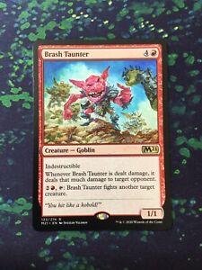 MTG, Brash Taunter. Core Set 2021 Rare NM